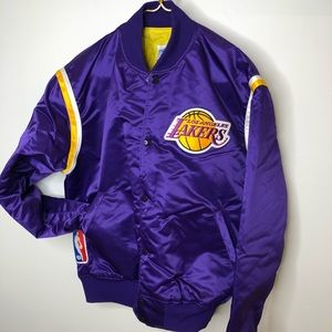Lakers💜💛 🏀 Basketball Starters Jacket size L